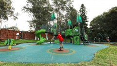 Climatic playground photo