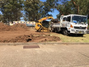 Excavation for Playground
